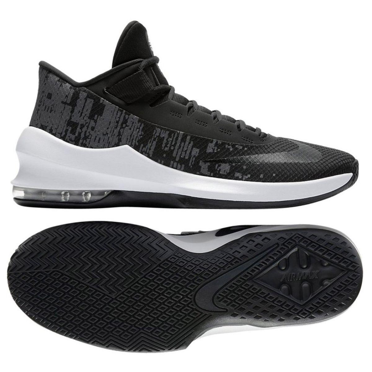 5f04befb7418e Basketbalové boty Nike Air Max Infuriate 2 Mid M AA7066-001 ...