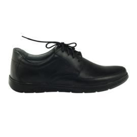 Černá Pánské boty Riko 849 černé
