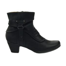 Boty černé super komfortní Aloeloe černá
