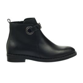Černá Edeo boty černé 3243