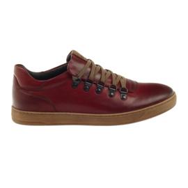 Pilpol červená Pilot PC051 červené boty