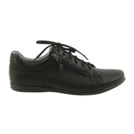 Černá Pánské boty Riko 856