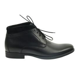 Černá Pánské zimní boty Pilpol 2194 černé
