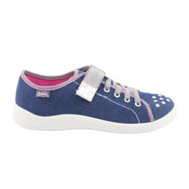 Modrý Befado dětské boty 251Q109