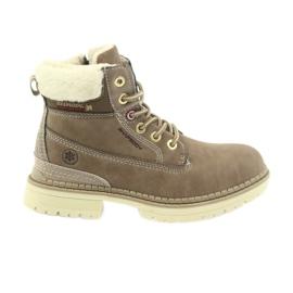 American Club hnědý Americké boty boty zimní boty 708122