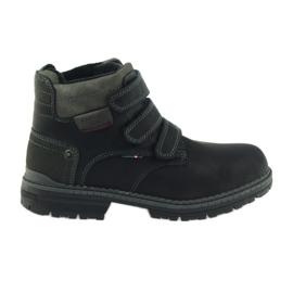 American Club černá Americké boty zimní boty 708139