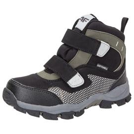 Zimní boty 4f Jr HJZ18-JOBMW002 černá