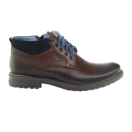 Hnědé pánské boty Nikopol 686