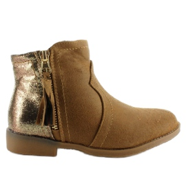 Hnědý Boty boty boty K1647301 Camel