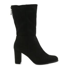 Černá Boty černé boty Sergio leone