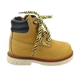 Ren But žlutý Boots Timberki Ren Ale 1457 velbloud