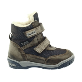 Bartuś Boote boty s membránou 006 okurkou béžový válečné loďstvo