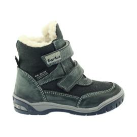 Bartuś šedá Boote boty s membránou 006 okurkou