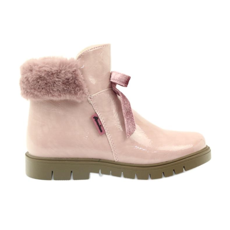 American Club Americké boty boty zimní boty 18015 růžový