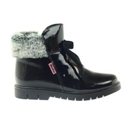 American Club černá Americké boty boty zimní boty 18015