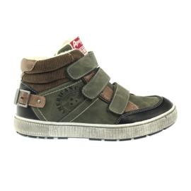 American Club zelené zimní sportovní boty 17779