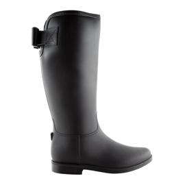 Černá Dámské boty černé D58 černé