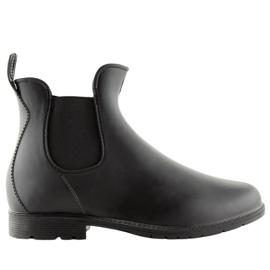Boty Wellington černé D67 černé černá