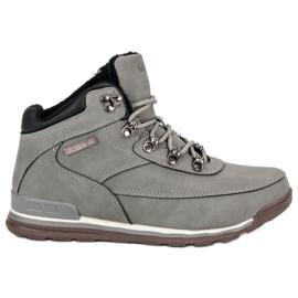 Izolační dámské boty MCKEYLOR šedá