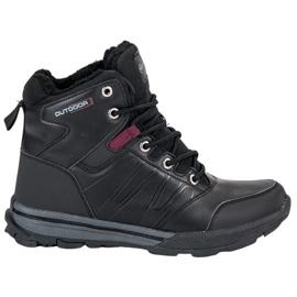 Černá Dámské trekkingové boty MCKEYLOR