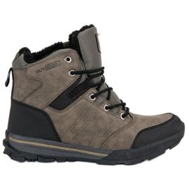 Hnědý Dámské trekkingové boty MCKEYLOR
