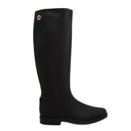 Černá Rainy Show Dětské boty černé D59 Černé