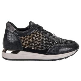 Kylie Módní sportovní boty černá