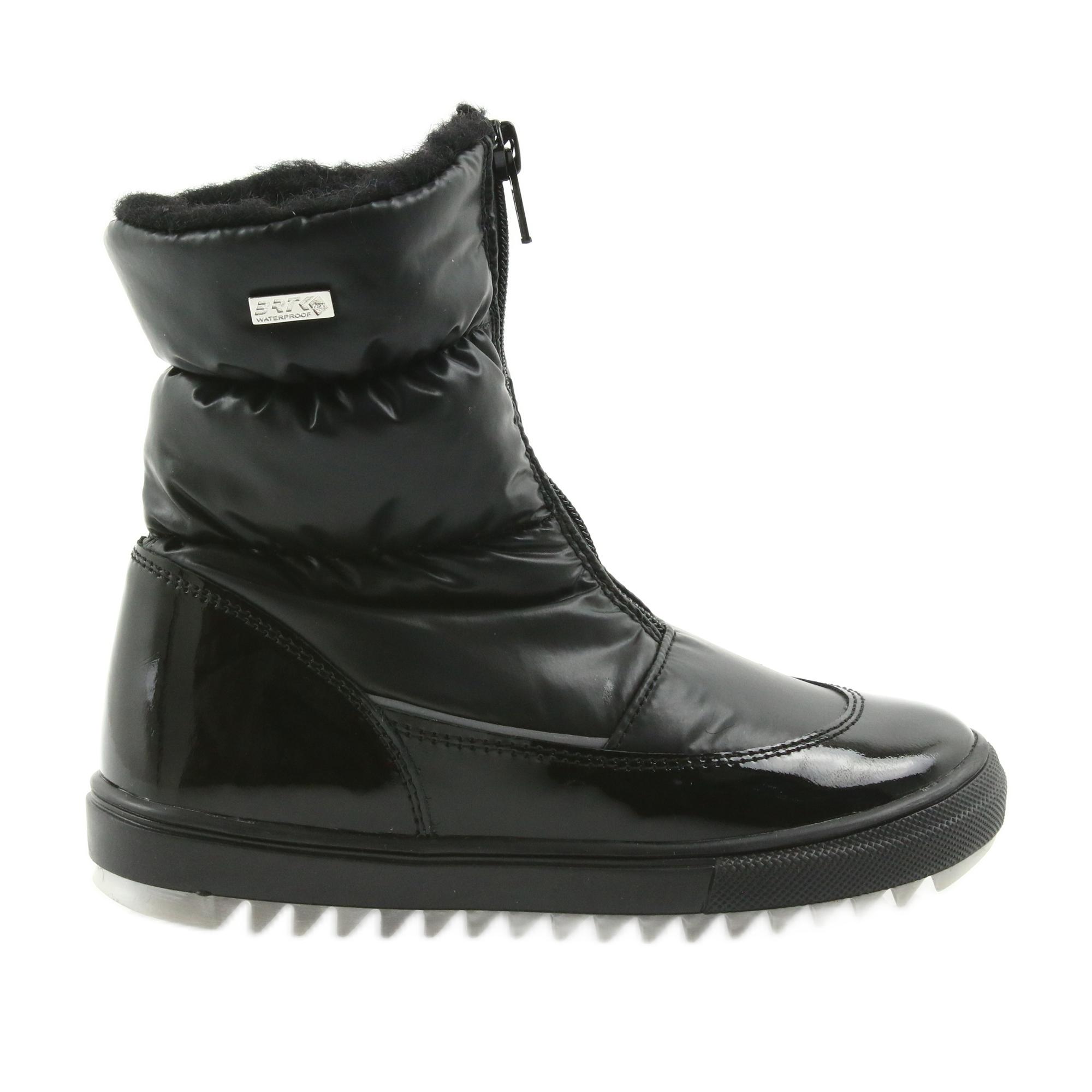 černá botty
