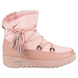 Růžový Sněhové boty MCKEYLOR