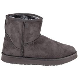 Kylie šedá Posuvné sněhové boty