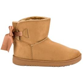 Hnědý Sněhové boty Mukluki
