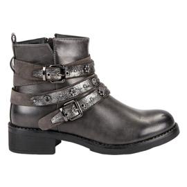 Sixth Sense šedá Rock Boots