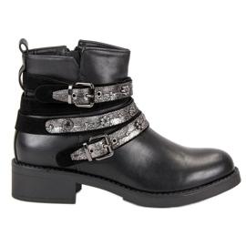 Sixth Sense černá Rock Boots