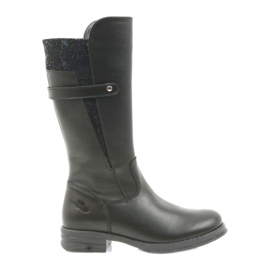 Ren But Ren Boot dlouhé boty černé 4371