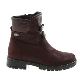 Dívky boty Ren But 3314 burgundy