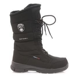 American Club Softshellové boty s americkou membránou SN12 / 20 černá