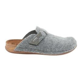 Pantofle měly pocínovaný Inblu TH014 šedý šedá