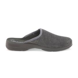 Inblu šedá Pánské pantofle šedé pantofle