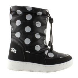 Černá Dětské ortóliové koleno vysoké boty k1646109 Negro