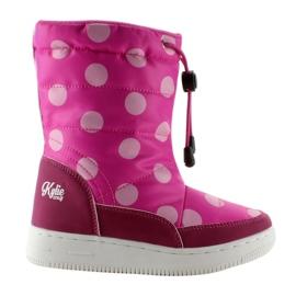 Růžový Dětské k1646109 Rose orthalion boty