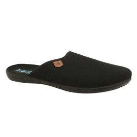 Černá Pantofle Adanex 21115 papuče