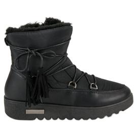 Černá Sněhové boty MCKEYLOR
