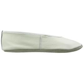 Bílá Gymnastické baletní boty