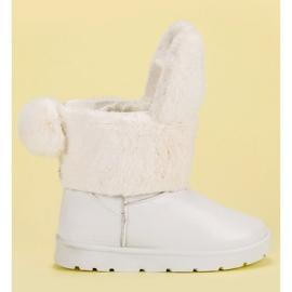 Seastar bílá Sněhové boty Mukluki