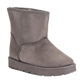 Seastar šedá Sněhové boty Mukluki