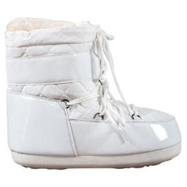 Bílá Módní sněhové boty