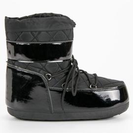 Černá Módní sněhové boty