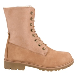 Super Me Šněrovací boty růžový