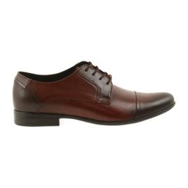 Tur Kožené uzené boty hnědý