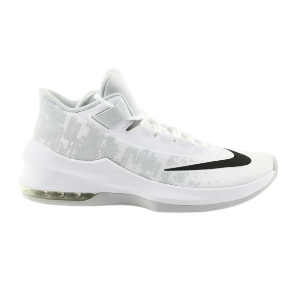 Basketbalová obuv Nike Air Max Infuriate 2 bílá bílá